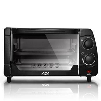 北美ATO-M10AC电烤箱 电烤箱 家用烘焙 10升迷你烤箱 北美电器 ACA