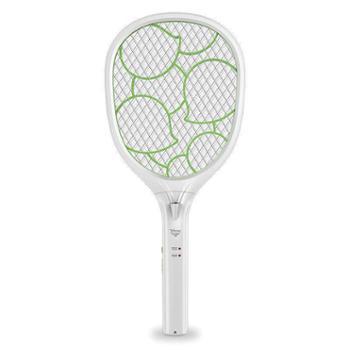 雅格(YAGE)电蚊拍充电式led灯多功能安全灭苍蝇拍环保驱蚊YG-5621