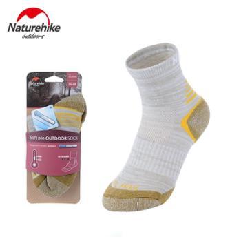 NH挪客 登山徒步袜 男女户外袜子coolmax速干袜排汗快干跑步袜子