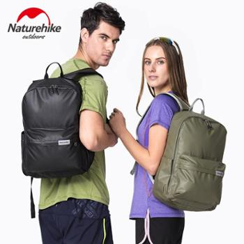 NH挪客 皮膜防水休闲背包 2017款男女双肩包户外运动旅行电脑背包