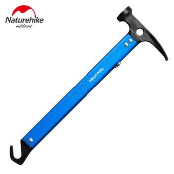 NH挪客 户外多功能锤子 铝合金 工兵锹 钩子野外求生装备救生锤子