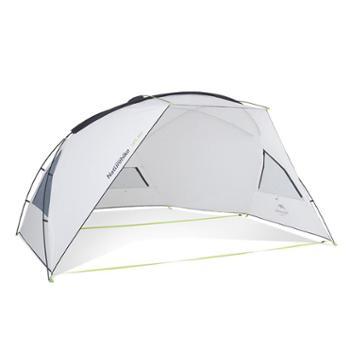 NH挪客天幕帐篷防晒防紫外线野营雨棚户外防雨水遮阳棚蓬