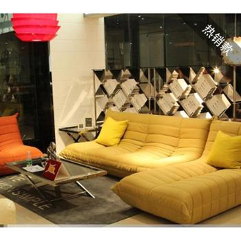 美洛帝简单家具布艺沙发