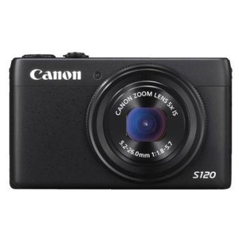 佳能(Canon) PowerShot S120 数码相机 1210万像素 5倍光变 24mm广角