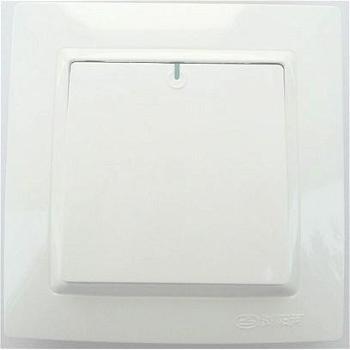 浏阳河电器一位单控开关86型Q5系列雅白色款