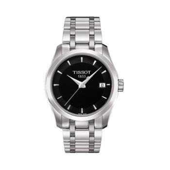 天梭手表Tissot-库图系列T035.210.11.051.00女士石英表