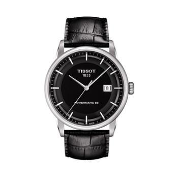 天梭手表Tissot-Luxury系列皮带机械男士腕表T086.407.16.051.00