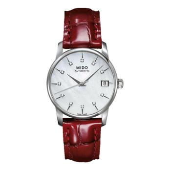 美度手表MIDO-贝伦赛丽系列正品时尚女士腕表M007.207.16.106.00机械女表