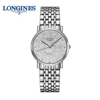 浪琴Longines博雅系列机械男士手表L4.809.4.77.6