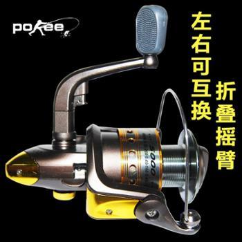 太平洋钓具800/1000/2000/3000AM鱼轮纺车轮渔具特价