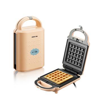 小熊DBC-P05B1三明治机家用早餐机轻食机华夫饼机吐司压烤机电饼铛加热烤锅
