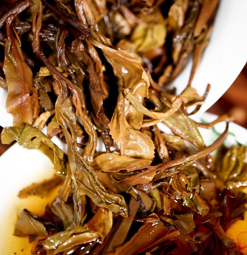 彩程 茶叶 2004年 冰岛 普洱 生茶 500年古树 10年陈香 500g*饼