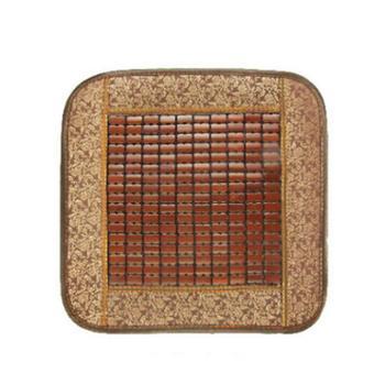 夏季竹片坐垫透气麻将凉垫凉席坐垫方垫单45*45cm