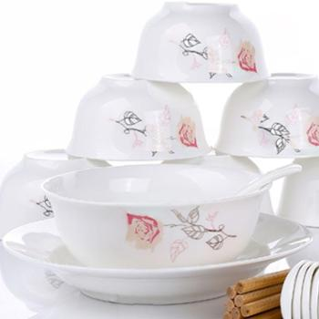 【爱依瑞斯】26头餐具套装AS-D2601H永恒玫瑰