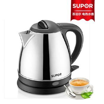 【628龙支付】Supor/苏泊尔 【SWF12P1A-150】1.2升 不锈钢电热水壶 完美的电水壶