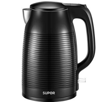 Supor/苏泊尔 【SW-17D618】1.7L全钢无缝电热水壶