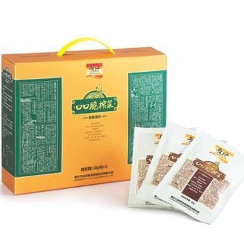 乌江涪陵榨菜口口脆礼盒80g*16袋 重庆特产 经典礼盒 泡菜酱菜咸菜佐餐佳品