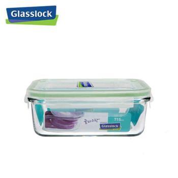 CHEFTOPFGlasslock韩国进口玻璃饭盒微波炉冰箱收纳盒保鲜盒密封盒明绿715