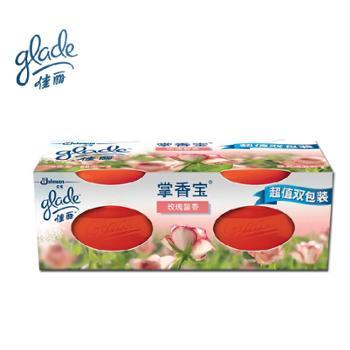 佳丽掌香宝空气清新剂双包装玫瑰馨香60g*2