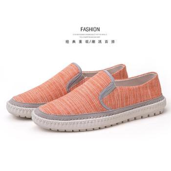 纳恩奴男士春秋季新款韩版男士休闲鞋帆布鞋潮流鞋 8503-ND