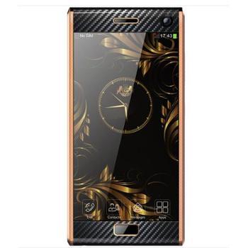 詹姆士R19 plus全网通4G高端商务智能手机 双卡6GB+128GB 蓝宝石屏 巅峰版 轻奢小牛皮