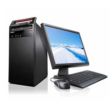 联想台式机电脑扬天T4900V-00I3-41604G19.5寸商用整机全套