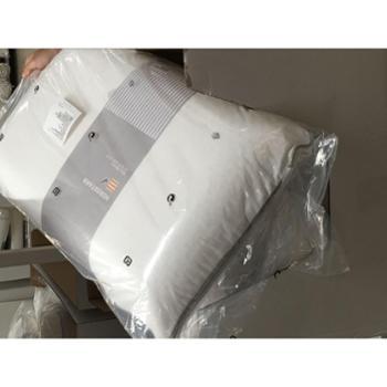 宜家 正品 赫斯特 天然乳胶枕头 高枕 保健枕头 45x70 快速回弹 单个