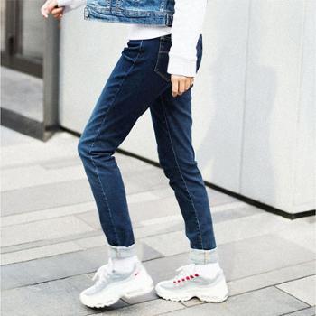Levi's李维斯700系列女士711紧身中腰球鞋牛仔裤19560-0122