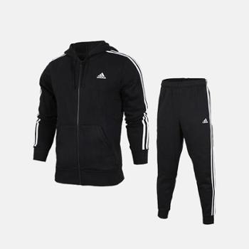 Adidas阿迪达斯男子女子运动套装时尚运动款