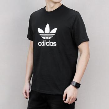 Adidas阿迪达斯男女款三叶草新款运动休闲短袖T恤-CW0709-CV9888