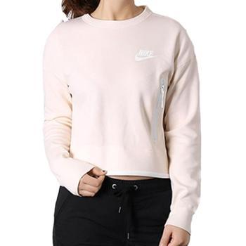 Nike耐克女装休闲长袖运动卫衣落肩圆领套头衫939930