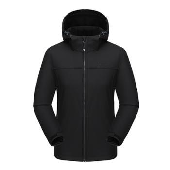 埃尔蒙特 ALPINT MOUNTAIN 户外防风 软壳加绒外套 冲锋衣