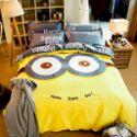大版活性印花全棉卡通四件套 学生床单床笠床上用品纯棉4三件套