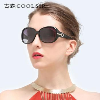 女士偏光太阳镜经典时尚镶钻6214驾驶墨镜太阳眼镜