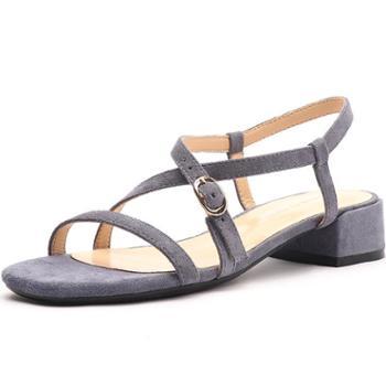 芙号交叉绑带凉鞋女女士罗马凉鞋shoeswomen