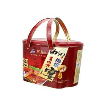 曲记海蜇 即食天然海蜇礼盒2.4kg,配送料包