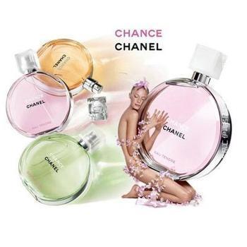 Chanel香奈儿 邂逅香水100ml 黄/粉/绿邂逅 女士淡香水淡香持久
