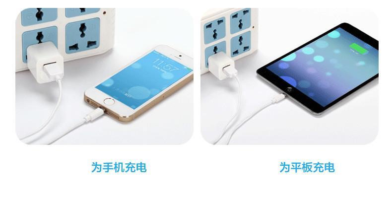 苹果原装充电器充电头电源适配器适用于iPhone6 6Plus 5 5S 5C
