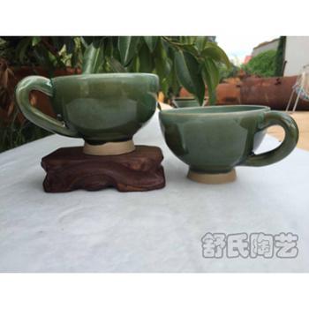 舒氏陶艺有限责任公司绿釉咖啡杯