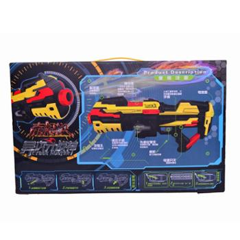 峰佳电动软弹枪异次元战神儿童安全玩具枪FJ822赤炽火玩具