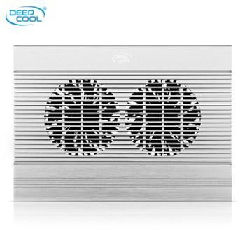 九州风神笔记本散热器usb风扇支架联想y50纯铝笔记本电脑散热器