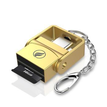type-ctf卡读卡器迷你otg转接头手机连接单反相机卡usb-c3.0高速