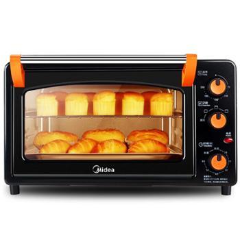 美的多功能电烤箱家用烘焙蛋糕大容量独立加热家用烘焙多功能蒸烤独立加热