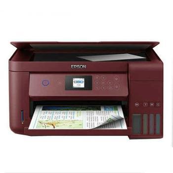 爱普生(EPSON) L4167墨仓式打印机复印一体机 家用小型学生作业打印 彩色照片无线wifi  原装连供  自动双面
