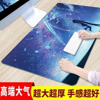 加厚鼠标垫超大键盘垫学生电脑垫办公桌垫大鼠标垫电竞书桌垫定制