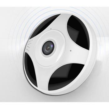 丹珑360度全景摄像头无线wifi家用夜视手机网络远程监控器高清