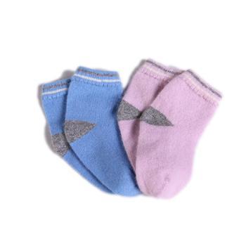 婴儿宝宝羊绒袜/双