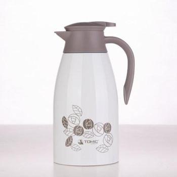 特美刻大容量不锈钢内胆暖水壶热水瓶1.5L