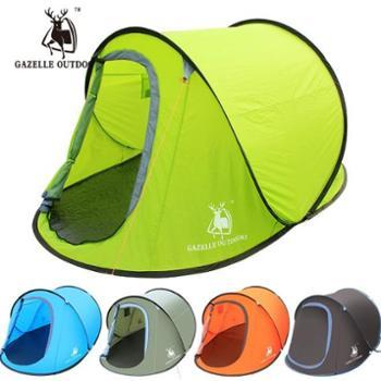 徽羚羊户外用品速开多人自动帐篷野营抛帐双人情侣露营装备用品