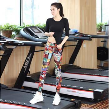 菩媞瑜伽服套装女速干健身房跳操跑步裤运动衣瑜珈显瘦
